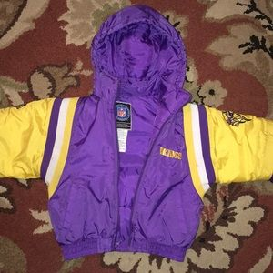 Kids Vikings NFL Puffy Coat